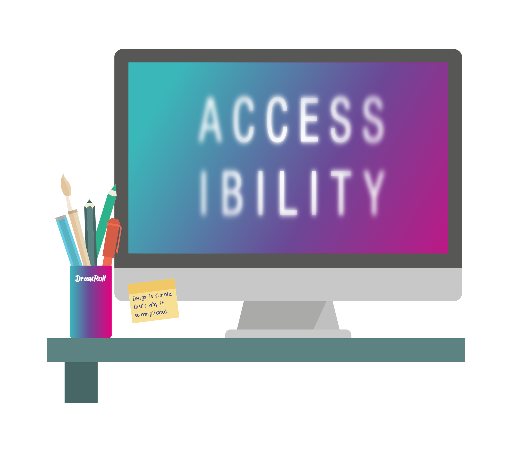 DrumRoll-accessibility-desk